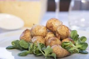 Gli Sciatt - piatto tipico Valtellinese